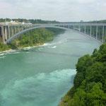 Die Brücke nach Kanada...