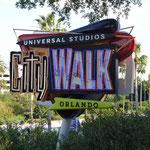 Die Vorstadt von Universalstudio und Island of Adventure...