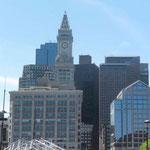 Die Bostoner Innenstadt...
