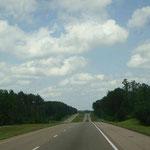 Unterwegs in Richtung Atlanta