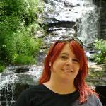 Endlich in den Bergen. Die Great Smoky Mountains sind berühmt für Ihre Wasserfälle...