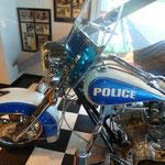 ein Polizeibike