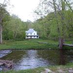 Eines der Ersten Häuser hier im Nationalpark...