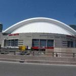Das Stadion der Toronto Baseball Mannschaft... Die Red Socks haben hier letzte Woche gleich 3 Spiele in Serie gewonnen...