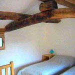 Céladon à l'étage, 2 lits simples