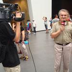 Beppe presenta il padiglione Italia a CRITV di Pechino