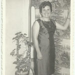 1950 - Madre in abito da festa - mother well dressed