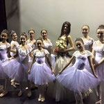 Marcella and the small classic dancers