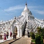 Yangon, pagoda bianca