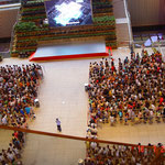 atrio di ingresso padiglione Cina