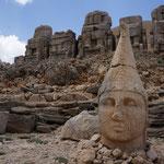 Turchia, Nemrut Dagi, tomba Antioco I Commagene