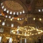 Istanbul - interno moschea Santa Sofia
