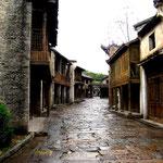 Strada della vecchia Canton