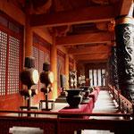 porticato esterno palazzo Qin