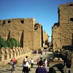 Karnak, viale dei leoni