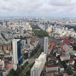 Hochiminh city, veduta generale