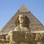 Sfinge e piramide Cheope
