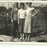 1960 - Babbo, madre e zia - father, mother and aunt