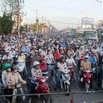 HoChiMinh city, traffico