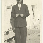 1950 - Babbo in abito da festa - father well dressed