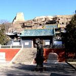 Ingresso grotte di Yungang