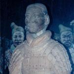 xian, Terracotta warrior face