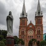 Hochiminh city, cattedrale nostra Signora