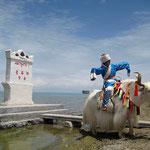 Stele lago Qinghai