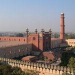 Džamija Vezir han, Lahore