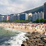 Rio spiaggia Copacabana