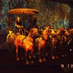 padiglione della Cina, immagine di carro di Xian