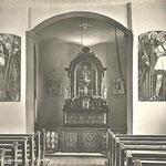 Innenansicht der St. Annakapelle (Quelle: U. Christen Pfäffikon)