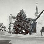 Kapelle mit Dorfkreuzung (Quelle: U. Christen Pfäffikon)
