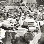 Aus der Luft ca. 1965 (Quelle U. Christen Pfäffikon)
