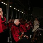 Der Musikverein Oberhausen sorgt für die musikalische Begleitung des Abends