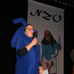 Die Zunfträtin Melanie Maurer moderiert das Programm