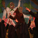 Die Taubergießen Dämonen mit ihrem Gastauftritt Sister Act