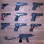 Auswahl Selbstladepistolen