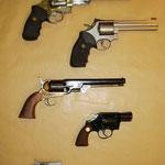 Auswahl Revolver