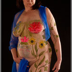 Body-painting, © Jean-Louis KLEFIZE