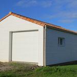 Dalle béton pour garage en ossature bois