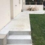 Escalier d'accès à la terrasse