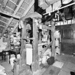 Interieur van de smederij in Leerbroek