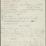 Signalementskaart Johannes van Meerkerk