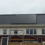 full black zonnepanelen