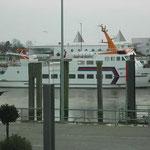 Fährschiff in Bensersiel