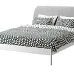 ダブルベッドの骨組み。マットレス、ベッドカバー等は別売。DUKEN。約169ユーロ。©Inter IKEA Systems B.V.