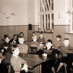 Volksschule Geisecke, 5. Klasse im Januar 1958