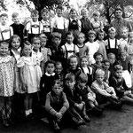 Volksschule Geisecke, Klassenfoto von 1951, Kasse 1-3