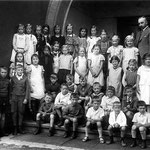 Ev. Volksschule Geisecke, Klassenfoto um 1937